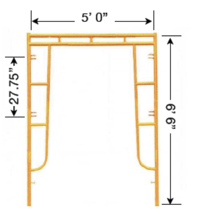 Where to find SCAFFOLD FRAME, 5  X 6  6 in Hagerstown