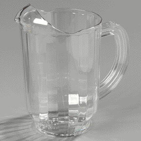 Where to find PITCHER, WATER PLASTIC in Hagerstown