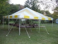 Where to rent CANOPY, 20  X 20  YELLOW in Hagerstown MD