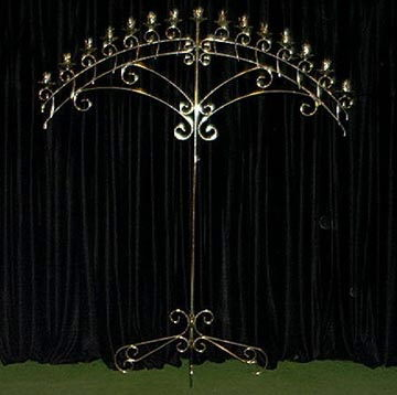 Where to find CANDELABRA, BRASS 15 LITE ARCH in Hagerstown