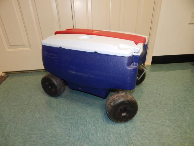 Where to find COOLER,   48 QUART W WHEELS in Hagerstown