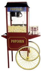 Where to find POPCORN MACHINE W CART in Hagerstown