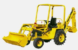 Where to find LOADER, BACKHOE TERRAMITE  20 HP in Hagerstown