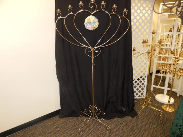 Where to find CANDELABRA, 7 LITE HEART CHROM in Hagerstown