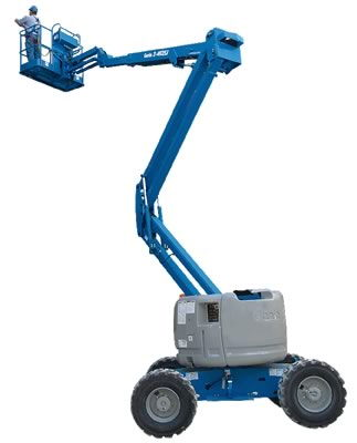Where to find LIFT, ARTICULATED 45  GENIE 4WD GAS BOOM in Hagerstown