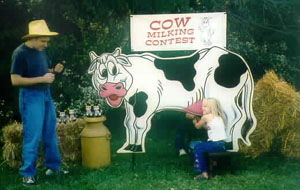 Where to find GAMES, COW MILKING CONTEST in Hagerstown