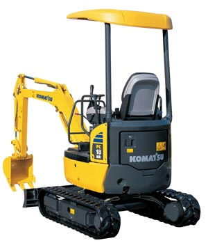Where to find EXCAVATOR, COMPACT KOMATSU  MED in Hagerstown