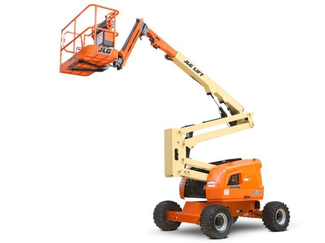 Where to find LIFT, ARTICULATED 45  JLG 4WD GAS BOOM in Hagerstown