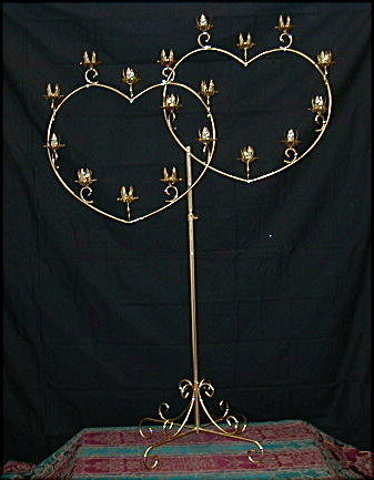 Where to find CANDELABRA, DBLE HEART 18 LITE in Hagerstown