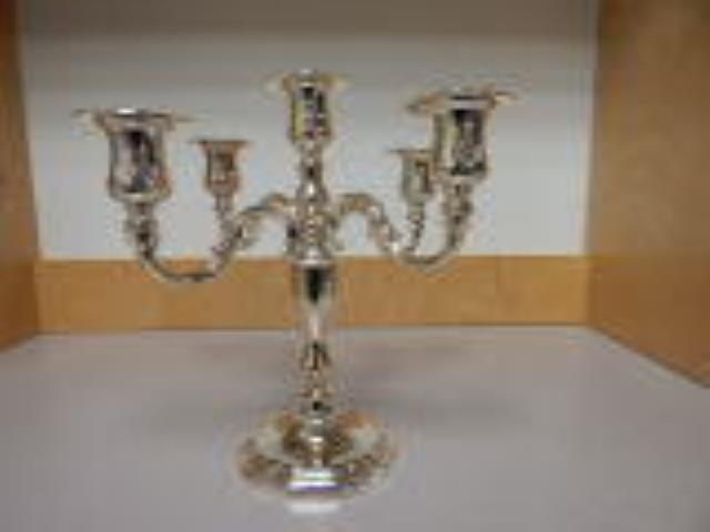 Where to find CANDELABRA, 5 BR SILVER TT in Hagerstown