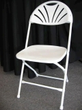 Where to rent CHAIR, WHITE W WHITE FRAME in Hagerstown MD