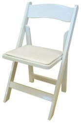 Where to find CHAIR, WHITE PVC WOODLIKE in Hagerstown