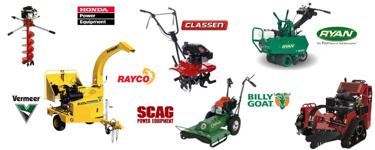 Equipment rentals in Williamsport MD, Martinsburg WV, Waynesboro PA, Mercersburg PA & Hagerstown Maryland